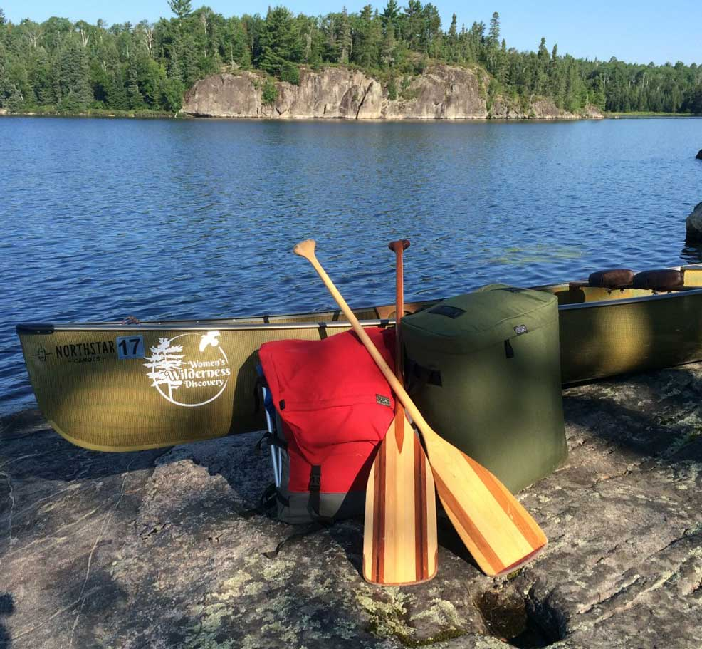BWCA camping outfit ready to paddle